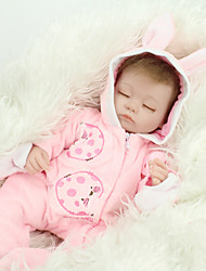 cheap -NPK DOLL Reborn Doll Girl Baby 45cm Vinyl lifelike Cute Child Safe Parent-Child Interaction Simulation Lovely Non Toxic Contemporary