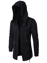 cheap -Men's Plus Size Sports Hoodie - Solid