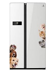 Недорогие -Животные Наклейки 3D наклейки Декоративные наклейки на стены, Винил Украшение дома Наклейка на стену Стена Холодильник