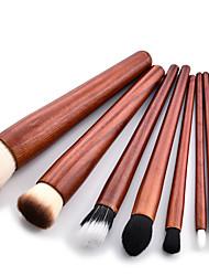 baratos -9pcs Pincéis de maquiagem Profissional Conjuntos de pincel / Pincel para Sombra Pêlo Sintético / Escova de Fibra Artificial Amiga-do-Ambiente Faia / Carcaça de Plástico