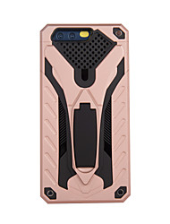 abordables -Funda Para Huawei P9 P10 con Soporte Armadura Funda Trasera Armadura Dura ordenador personal para P10 Plus P10 Lite P10 Huawei P9 Plus