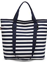 preiswerte -Damen Taschen Segeltuch Umhängetasche Knöpfe für Normal Blau / Schwarz / Rote
