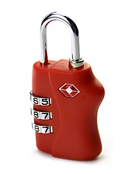 economico -il codice doganale blocca 4 scatole di borsa da viaggio password lucchetto in metallo a quattro serrature tsa338