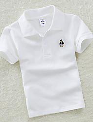 baratos -T-shirt de golfe para crianças Impermeável ao vestuário respirável Exercício de golfe ao ar livre