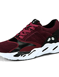 cheap -Men's Shoes Nubuck leather Suede Tulle PU Spring Comfort Light Soles Athletic Shoes Running Shoes Hiking Shoes Cycling Shoes Walking Shoes