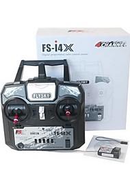 abordables -FS-i4X 1 juego Controles remotos Transmisor / controlador remoto aviones no tripulados aviones no tripulados Plásticos