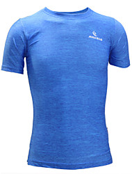 cheap -Men's Running T-Shirt Short Sleeves Quick Dry Anatomic Design Ultraviolet Resistant Moisture Permeability Breathable smooth Sweat-wicking
