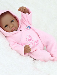 cheap -NPK DOLL Reborn Doll Baby 12inch Silicone / Vinyl - Full Body Silicone, lifelike, Cute Kid's Gift