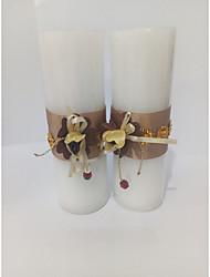 Недорогие -Бабочки Праздник Классика Сказка Свечи сувениры - 2 Свечи Прочее Пенополиуретан Все сезоны