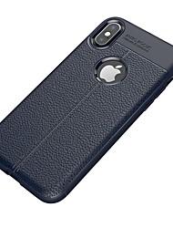 Недорогие -Кейс для Назначение Apple iPhone X iPhone 8 iPhone 8 Plus iPhone 7 Plus iPhone 7 Ультратонкий Кейс на заднюю панель Сплошной цвет Мягкий