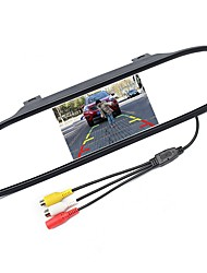 cheap -ZIQIAO 5 Inch Digital TFT LCD Mirror Car Parking Rear View Monitor With