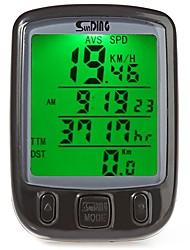 Недорогие -SUNDING 563A Велокомпьютер Водонепроницаемость Компактность Проводной Счётчик пробега Спидометр Велосипедный спорт / Велоспорт Горный