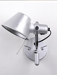 billiga -Modern Swing Arm Lights Sovrum / Studierum / Kontor Aluminium vägg~~POS=TRUNC IP65 110-120V / 220-240V 40W