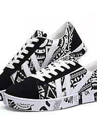 Muškarci Cipele PU Proljeće Jesen Udobne cipele Sneakers za Kauzalni Obala Plava Orange & Black