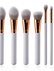 cheap -7 pcs Makeup Brush Set Synthetic Hair Soft Beech Wood Adult