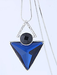 cheap -Women's Long Pendant Necklace - European, Fashion Dark Blue, Gray, Dark Red Necklace Jewelry For Party