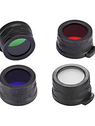 cheap -Nitecore NFD40 SRT7 P15 EC4 Diameter 40mm Multicolor Filter Diffuser