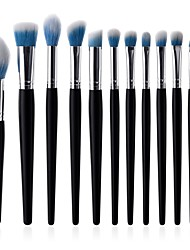 cheap -10-Pack Makeup Brushes Professional Lip Brush / Eyelash Brush / Powder Brush Synthetic Hair / Artificial Fibre Brush Eco-friendly / Soft