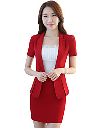 cheap -Women's Work Casual Spring Summer Suit