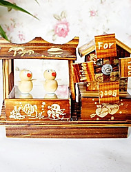 cheap -Non-personalized Wooden/Bamboo Storage Box Couple Coworkers Parents Friends Baby & Kids Wedding Birthday