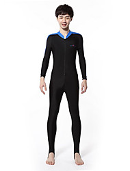 cheap -Bluedive Men's Women's Unisex Dive Skin Suit Quick Dry Ultraviolet Resistant Front Zipper Breathable Full Body Sunscreen UPF50+ Chinlon