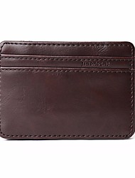 cheap -Men's Bags PU Coin Purse Tiered Black / Coffee / Brown