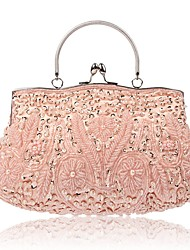 cheap -Women's Bags Polyester Evening Bag Beading / Embroidery for Wedding / Event / Party Purple / Coffee / Army Green