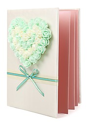 abordables -Satin Romance Fantastique MariageWithStrass 1 Boîte d'Emballage Livre d'or