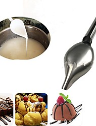cheap -Bakeware tools Stainless Steel Creative Kitchen Gadget / DIY For Cake Dessert Tools 1pc
