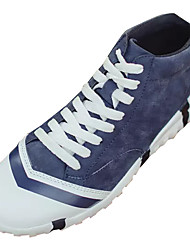 Muškarci Cipele Brušena koža Proljeće Jesen Svjetleće tenisice Sneakers za Kauzalni Crn Braon Plava