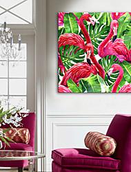 Недорогие -Отпечатки на холсте Modern, 1 панель холст Квадратный Вертикальная С картинкой Декор стены Украшение дома