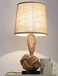 cheap -Modern / Contemporary Decorative Table Lamp For Bedroom Hemp Rope 220V