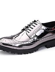 abordables -Homme Chaussures Polyuréthane Printemps / Automne Confort Oxfords Or / Argent