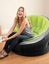 Недорогие -Надувной диван / Надувной матрас / Надувной стул На открытом воздухе Компактность / Быстрый надувной Полиэстер / ПВХ Мебель для дома / Пляж  / Походы