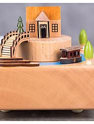 Недорогие -По заказу покупателя Дерево музыкальная шкатулка Невеста Свидетельница Пара Родители Друзья Дети День рождения На каждый день