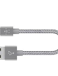 economico -Illuminazione Alta velocità / Carica rapida Cavi iPhone per 15 cm Per Nylon