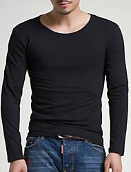 Majica s rukavima Muškarci - Kinezerije Jednobojni Osnovni