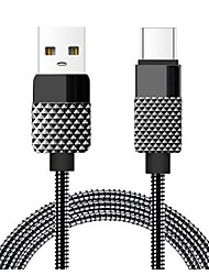 cheap -Type-C High Speed / Quick Charge Cable Macbook / Samsung / Huawei for 100 cm For Zinc Alloy