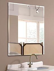 abordables -Espejo Brillante Moderno Vidrio Templado 1 pieza - Espejo accesorios de ducha