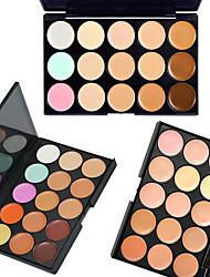 billige Concealer & kontur-# Concealer / Contour 3 pcs Tørr / Våt / Matt Bleking / Reduserer rynker / Fuktighetsgivende Daglig / Kosmetikk / Foundation # Glitters / matte Matt Daglig Sminke kosmetisk