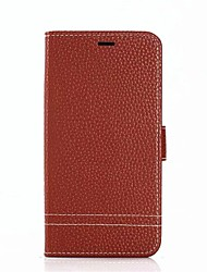 cheap -Case For Xiaomi Redmi Note 4X Redmi 5A Card Holder with Stand Full Body Cases Solid Color Hard Genuine Leather for Xiaomi Redmi Note 5A
