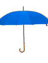 cheap -Fabric Men's Sunny and Rainy / Wind Proof / New Straight Umbrella