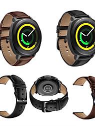 preiswerte -Uhrenarmband für Gear Sport Gear S2 Classic Huawei Watch 2 Samsung Galaxy Klassische Schnalle Echtes Leder Handschlaufe
