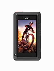 baratos -Capinha Para Sony Xperia XZ1 Água / Dirt / à prova de choque Capa Proteção Completa Côr Sólida Rígida Metal para Sony Xperia XZ1