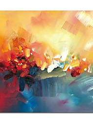 Недорогие -styledecor® современная ручная роспись абстрактной масляной живописи на холсте, настенная живопись для гостиной на обернутом холсте