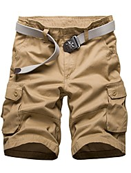 cheap -Men's Street chic Shorts Pants - Solid Colored