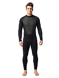 cheap -MYLEDI Men's 3mm Thick Full Wetsuit Waterproof Thermal / Warm Wearable YKK Zipper Neoprene Diving Suit Diving Suits - Swimming Diving