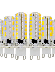 economico -YWXLIGHT® 6pcs 7W 600-700lm G9 Luci LED Bi-pin T 152 Perline LED SMD 3014 Oscurabile Bianco caldo Luce fredda 110-130V 220-240V