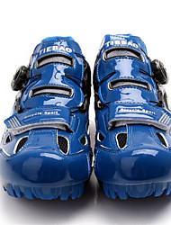 cheap -Tiebao® Mountain Bike Shoes Carbon Fiber Anti-Slip, Wearable, Breathability Cycling Black / Blue Men's