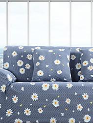Недорогие -Современный 100% полиэстер, жаккард Накидка на диван для двоих, Простой Цветочный принт С принтом Чехол с функцией перевода в режим сна